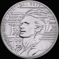 Coin > 7½euro, 2017 - Portugal  (Sports Idols - Carlos Lopes) - reverse