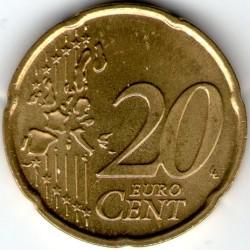 Mynt > 20eurocent, 2002-2005 - Vatikanstaten  - reverse