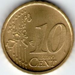 Münze > 10Eurocent, 2002-2005 - Vatikanstadt   - reverse