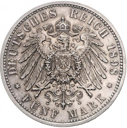 5 Mark 1898 1904 Deutsches Kaiserreich Münzen Wert Ucoinnet