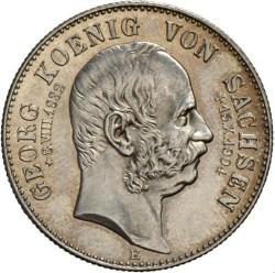 Moneda > 2marcos, 1904 - Alemán (Imperio)  (Muerte de Jorge de Sajonia) - obverse