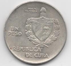 Moneda > 1peso, 1934-1939 - Cuba  - obverse
