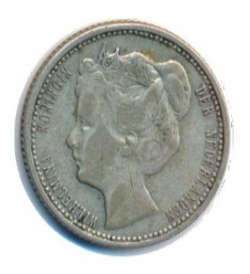 Monedă > 25cenți, 1898-1906 - Regatul Țărilor de Jos  - reverse
