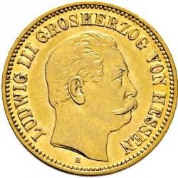 Moneda > 5marcos, 1877 - Alemán (Imperio)  (Luis III) - obverse