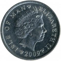 Монета > 10пенсів, 2004-2016 - Острів Мен  - obverse