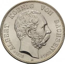 Moneta > 2marchi, 1902 - Impero Tedesco  (Morte di Alberto I di Sassonia) - obverse
