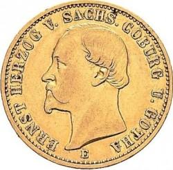 Монета > 20марок, 1872 - Германская империя  - obverse