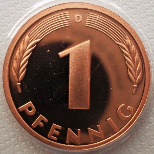 1 Pfennig 1997 Deutschland Münzen Wert Ucoinnet