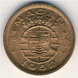 Moneta > 10avosų, 1952 - Makao  - obverse