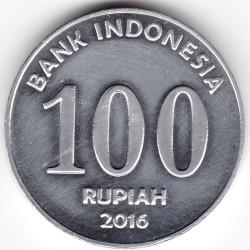 Pièce > 100roupies, 2016 - Indonésie  - reverse