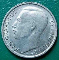 Монета > 1франк, 1965-1984 - Люксембург  - reverse