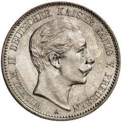 Moneda > 2marcos, 1888 - Alemán (Imperio)  (Guillermo II) - obverse