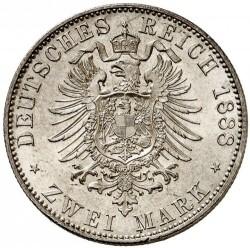 Moneda > 2marcos, 1888 - Alemán (Imperio)  (Guillermo II) - reverse