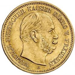 Moneda > 5marcos, 1877-1878 - Alemán (Imperio)  - obverse