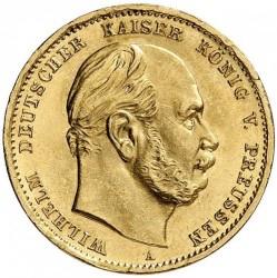 Moneda > 10marcos, 1872-1873 - Alemán (Imperio)  - obverse