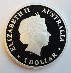 Moneta > 1dolar, 2012 - Australia  (Odkryj Australię - Rekin wielorybi) - obverse