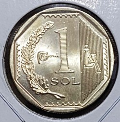 Münze > 1Sol, 2018 - Peru  - obverse
