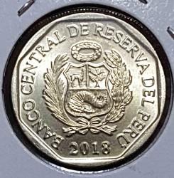 Монета > 1соль, 2018 - Перу  - obverse