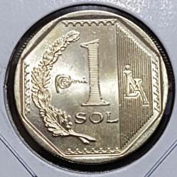 Монета > 1соль, 2018 - Перу  - reverse