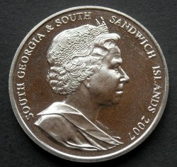 سکه > 2پوند, 2007 - گرجستان جنوبی  (Sir Ernest Shackleton) - obverse