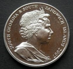 Кованица > 2фунте, 2007 - Јужна Џорџија  (Sir Ernest Shackleton) - obverse