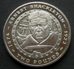 Кованица > 2фунте, 2007 - Јужна Џорџија  (Sir Ernest Shackleton) - reverse