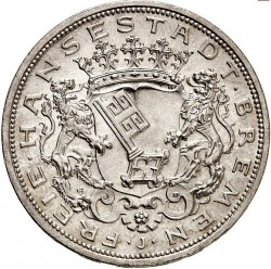 Moneta > 5marek, 1906 - Cesarstwo Niemieckie  - obverse