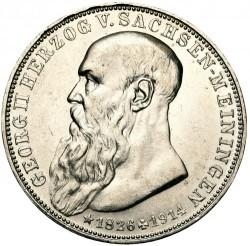 Moneda > 3marcos, 1915 - Alemán (Imperio)  (Muerte de Jorge II) - obverse