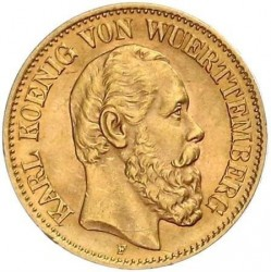 Münze > 10Mark, 1890-1891 - Deutsches Kaiserreich  - obverse