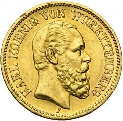 Coin > 20mark, 1874-1876 - German Empire  - obverse