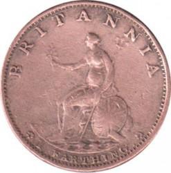 Moneta > 1farthing, 1799 - Wielka Brytania  - reverse