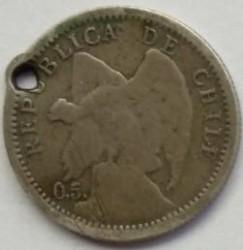 מטבע > 10סנטאבו, 1899-1907 - צ'ילה  - obverse