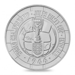 Mynt > 5 pounds, 2016 - Alderney  (50th Anniversary - FIFA World Cup 1966) - obverse