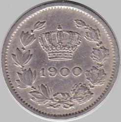 Pièce > 5bani, 1900 - Roumanie  - obverse