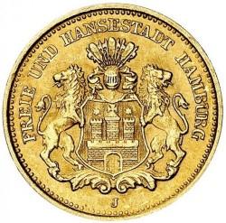 Монета > 5марок, 1877 - Німецька імперія  - obverse