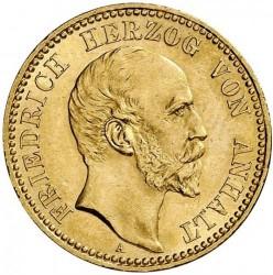 Moneta > 10marchi, 1896-1901 - Impero Tedesco  - obverse
