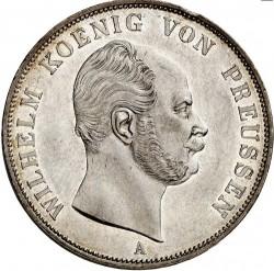 Монета > 2верейнсталера, 1861-1862 - Прусия  - obverse