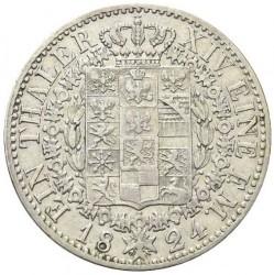 Монета > 1талер, 1823-1826 - Прусия  - reverse