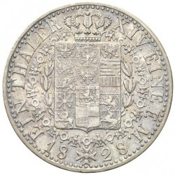 Pièce > 1thaler, 1827-1828 - Prusse  - reverse