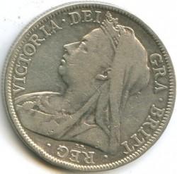 Moneta > ½korony, 1893-1901 - Wielka Brytania  - obverse