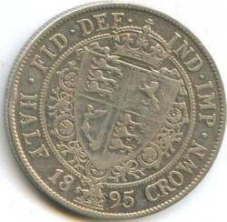 Moneta > ½korony, 1893-1901 - Wielka Brytania  - reverse