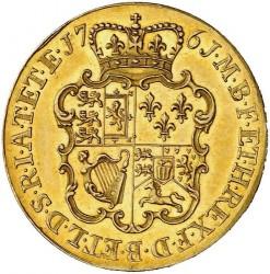 Moneda > 1guinea, 1761 - Reino Unido  - reverse