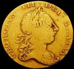 Moeda > 1guinea, 1763-1764 - Reino Unido  - obverse