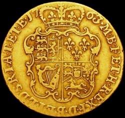 Moeda > 1guinea, 1763-1764 - Reino Unido  - reverse