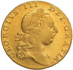 Pièce > 1guinea, 1763-1764 - Royaume-Uni  - obverse