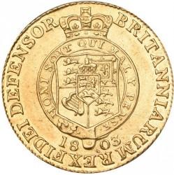 Moeda > ½guinea, 1801-1803 - Reino Unido  - reverse
