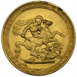 Moneda > 1sovereign, 1817-1820 - Reino Unido  - reverse