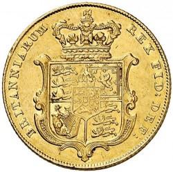 Монета > 1соверен, 1825-1830 - Велика Британія  - reverse