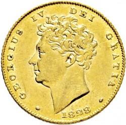 Moneta > 1suweren, 1825-1830 - Wielka Brytania  - obverse