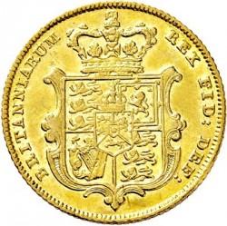Moneta > 1suweren, 1825-1830 - Wielka Brytania  - reverse